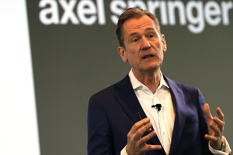 Axel Springer esce dal mercato pubblico