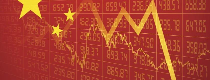 Cina in forte difficoltà