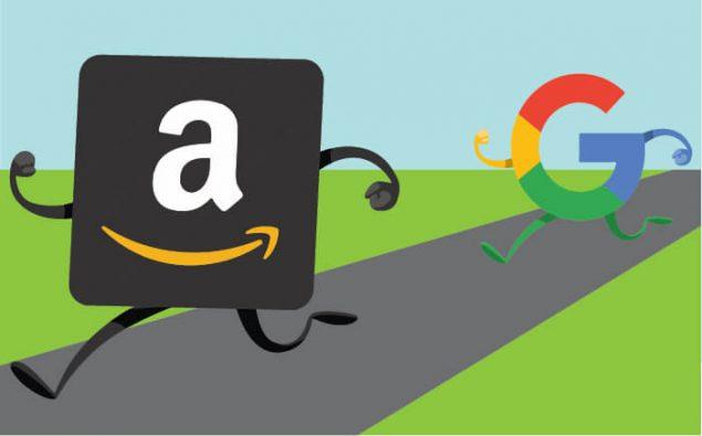Amazon e Alphabet conquistano il mercato
