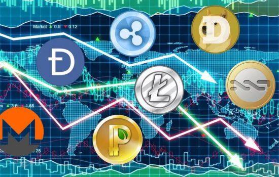 Mentre il Bitcoin è ancora stabile, le altre valute scendono molto