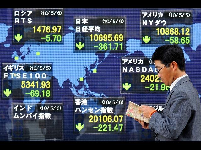 Il mercato asiatico soffre a causa degli Stati Uniti