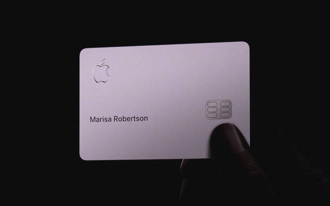 Apple crea la sua prima carta di credito