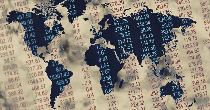 I disordini politici mondiali mettono a rischio l'economia mondiale