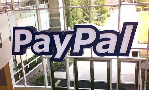 Piccola flessione per le azioni Paypal