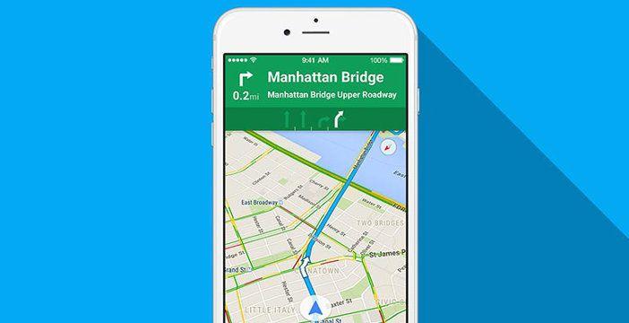 Google spinge molto sull'app delle mappe per risalire
