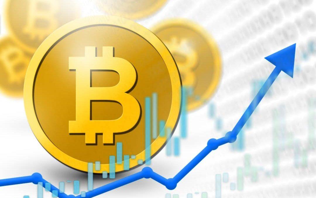 Con l'aumento dei volumi è salito anche il prezzo dei Bitcoin