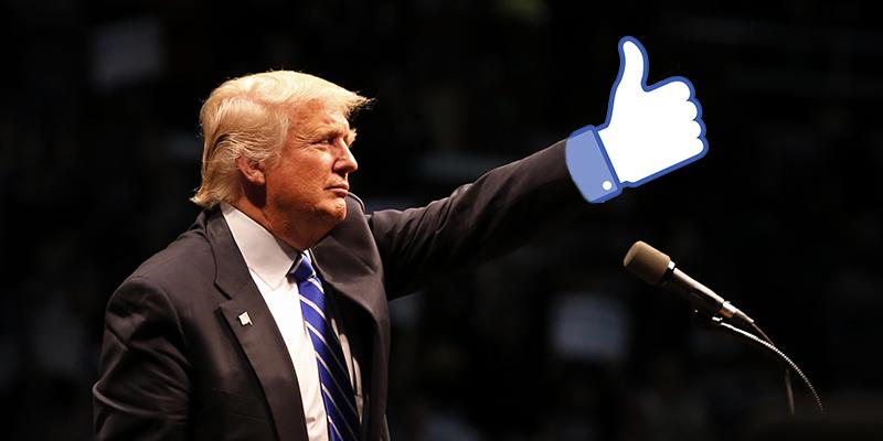 Come può influire Trump sulle Azioni Facebook
