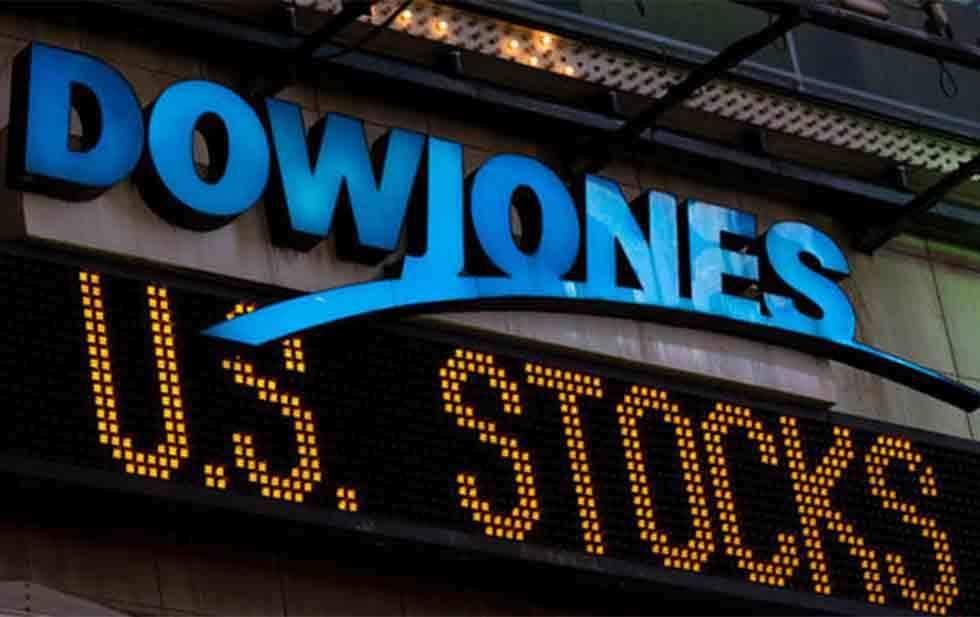 Down Jones risale dopo il più grande pullback da Marzo