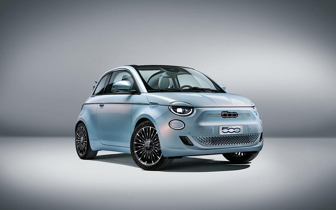 Fiat lancia la nuova cabrio elettrica: Azioni FCA in possibile risalita