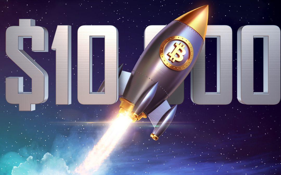 Quotazioni Bitcoin, investitori sperano ancora nel breakout sopra 10k