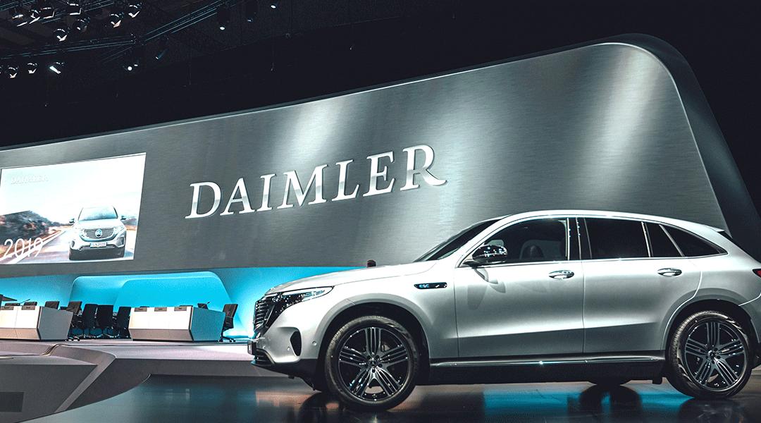 Daimler, EBIT Mercedes Benz in aumento con le vendite