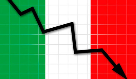 Italia, PIL crolla del 12,4%, ma meno del previsto