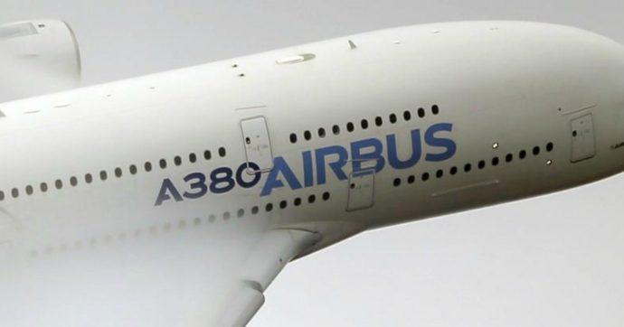 Azioni Airbus in rosso a causa dei dazi statunitensi