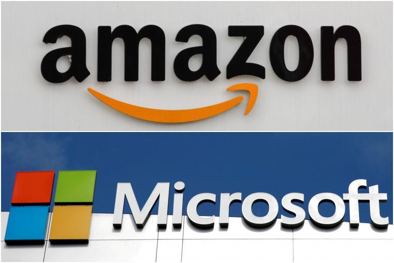 Amazon contro Microsoft per il contratto cloud del Pentagono