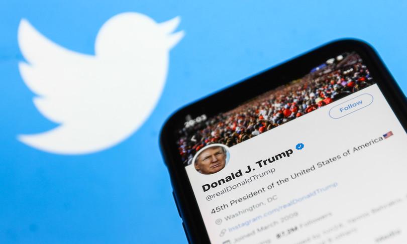 Twitter perde oltre il 2% dopo sospensione account Trump