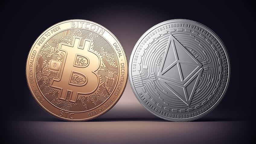 Bitcoin chiude il suo primo Aprile in rosso, Ethereum vola