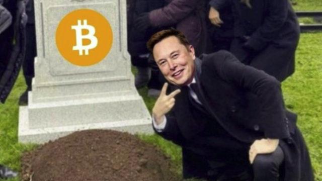 Bitcoin raggiunge il minimo di 3 mesi, poi ci pensa Musk