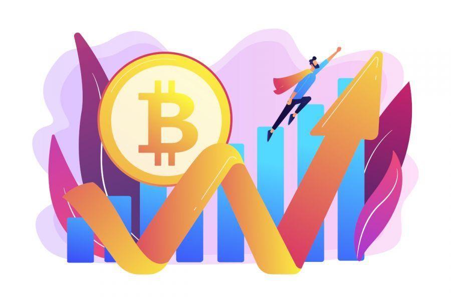 Bitcoin sopra i 35k: i grafici mostrano un'evoluzione importante