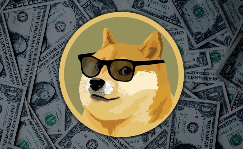 Dogecoin, valore in aumento mentre il Bitcoin cede