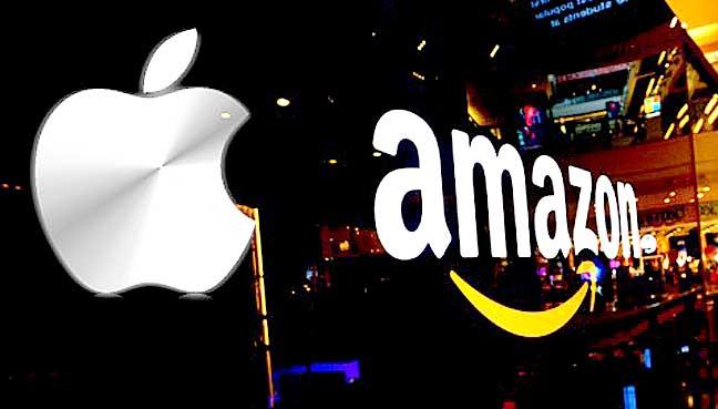 Amazon, Apple una sola direzione: i massimi storici
