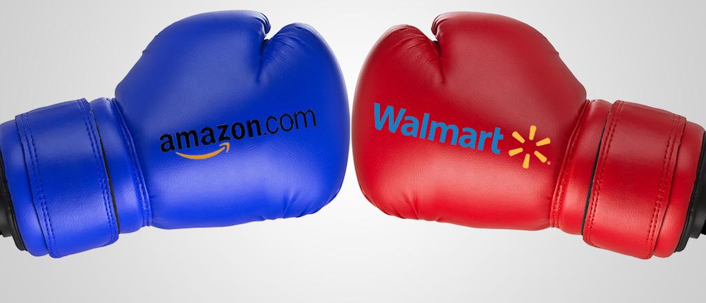 Amazon, Walmart: il duello continua senza esclusioni di colpi